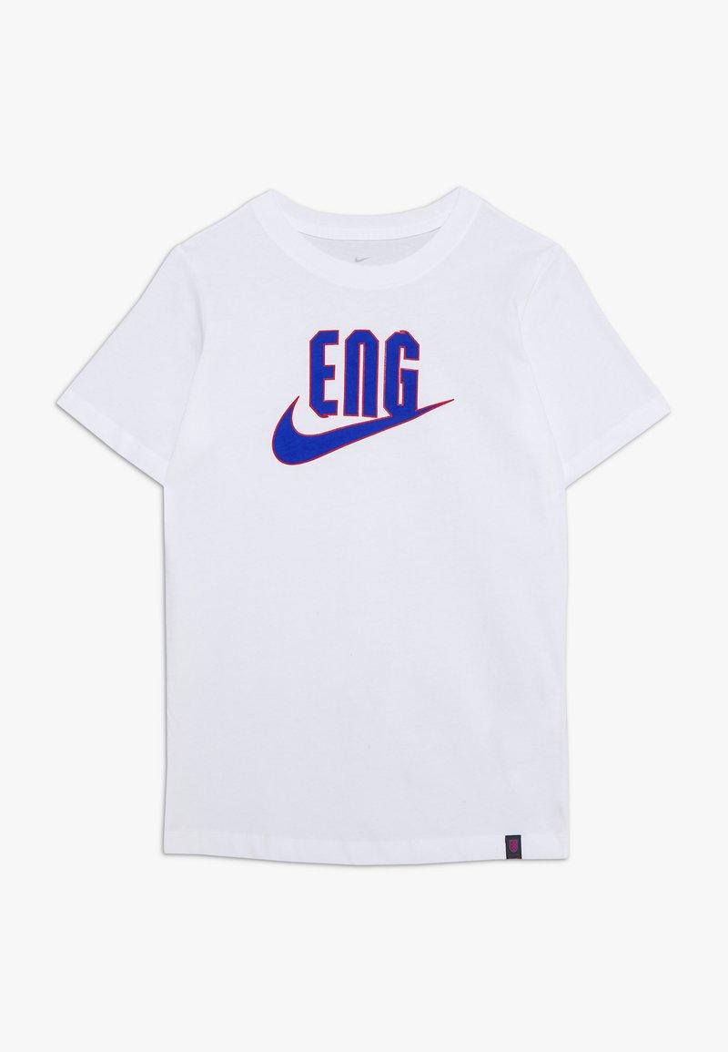Nike Performance - ENGLAND TEE GROUND - National team wear - white