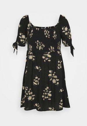 TIE DRESS - Day dress - black
