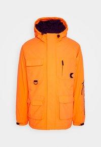 Karl Kani - SIGNATURE PADDED UTILITY JACKET - Winter coat - orange - 5