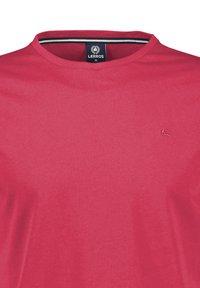 LERROS - Basic T-shirt - coral red - 2