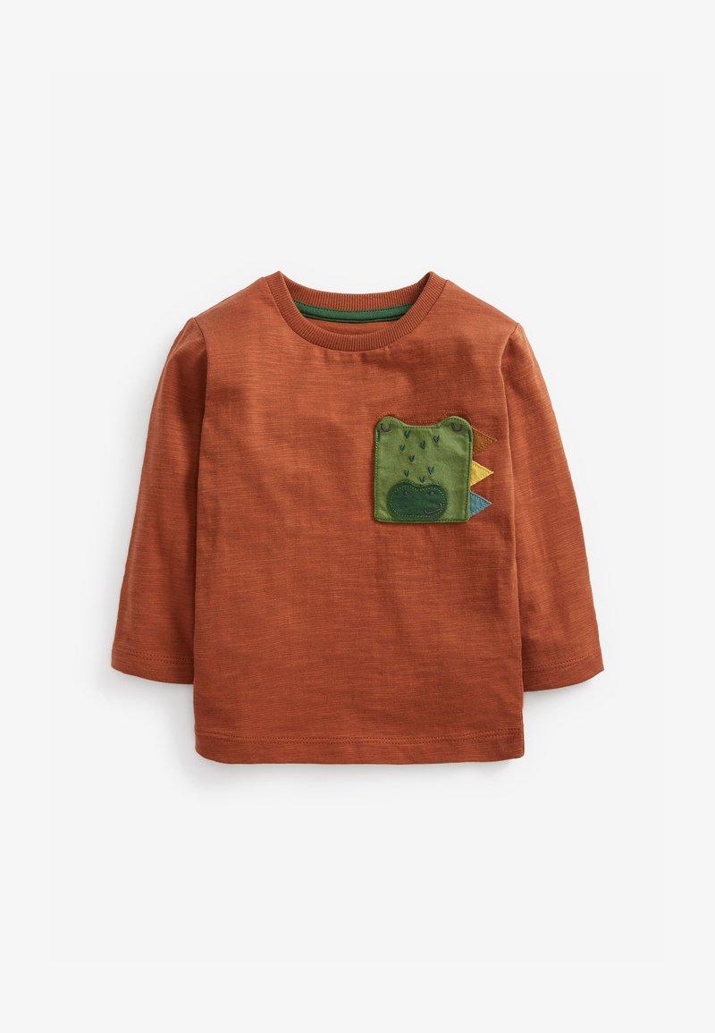 Next - Long sleeved top - orange