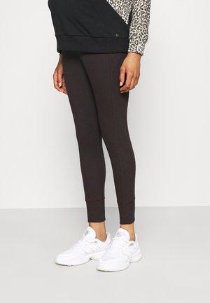 Leggings - Trousers - brown dark