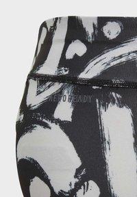 adidas Performance - EQUIP AEROREADY PRINTED LEGGINGS - Medias - black - 2