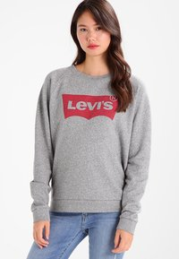 Levi's® - RELAXED GRAPHIC CREW - Sweatshirt - smokestack heather - 0