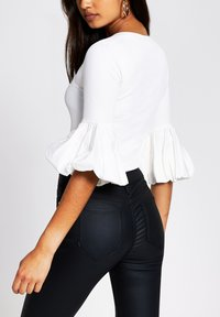 River Island - Long sleeved top - white - 2