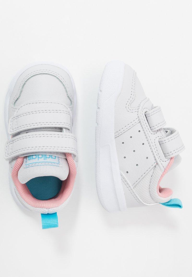adidas Performance - TENSAUR UNISEX - Sports shoes - dash grey/glowpink/bright cyan