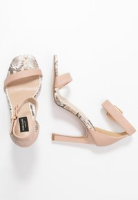 River Island Wide Fit - Sandaletter - neutral - 3