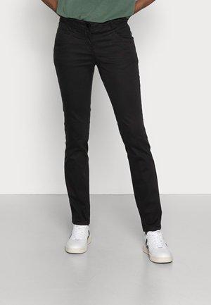 ALEXA - Jeansy Slim Fit - deep black