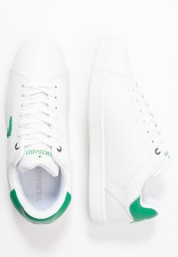 Trussardi Jeans - Trainers - white/green - 1