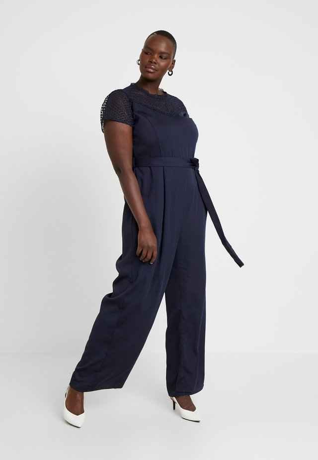 EXCLUSIVE - Jumpsuit - dark navy
