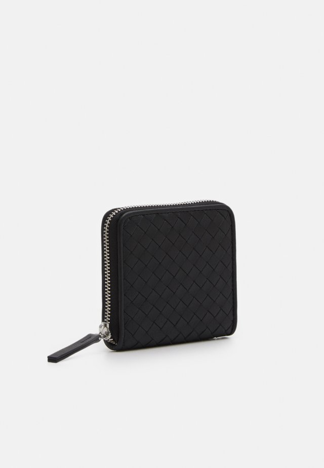 SHORT WALLET UNISEX - Geldbörse - black