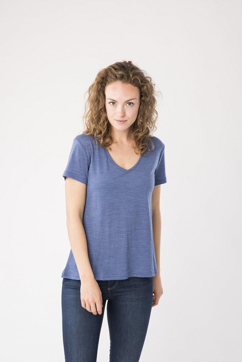 super.natural - TRAVEL - Basic T-shirt - blue