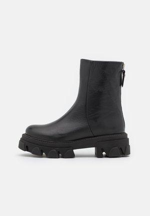 MARYANN - Platform ankle boots - black