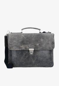 Leonhard Heyden - BOSTON - Briefcase - grey - 0