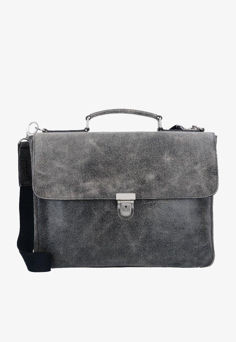 Leonhard Heyden - BOSTON - Briefcase - grey