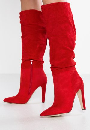 CAPUCCI - High heeled boots - red