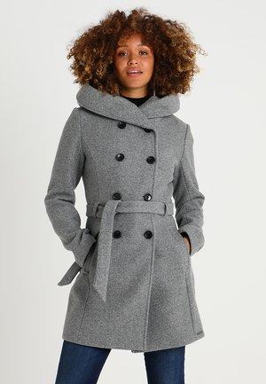 Kurzmantel - grey melange