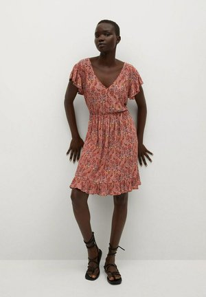 GRACIOSA - Day dress - fraise