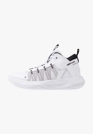JUMPMAN 2020 - Basketbalschoenen - white/metallic silver/black