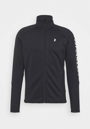 RIDER ZIP JACKET - Fleecejas - black