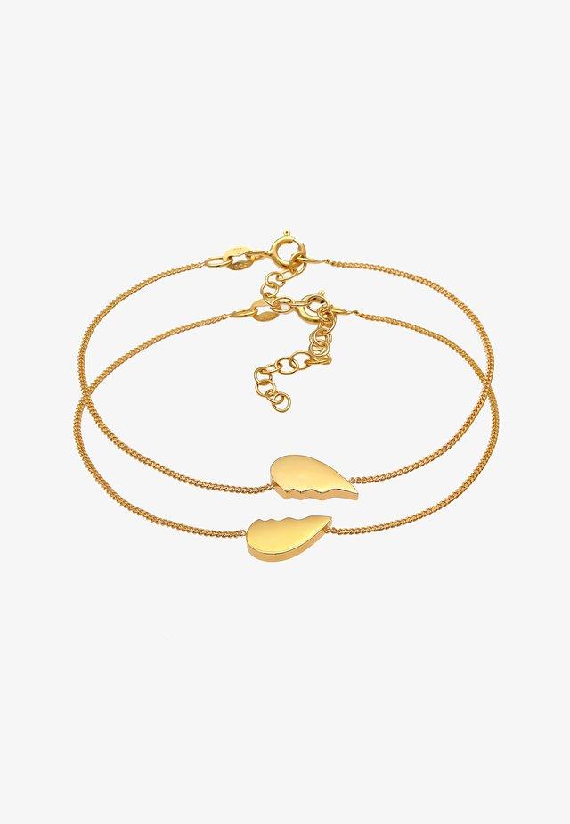 HEART - Armband - gold