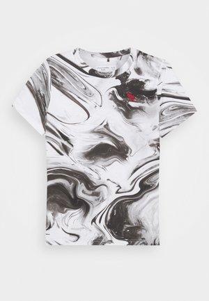 DYE EFFECTS - Camiseta estampada - white