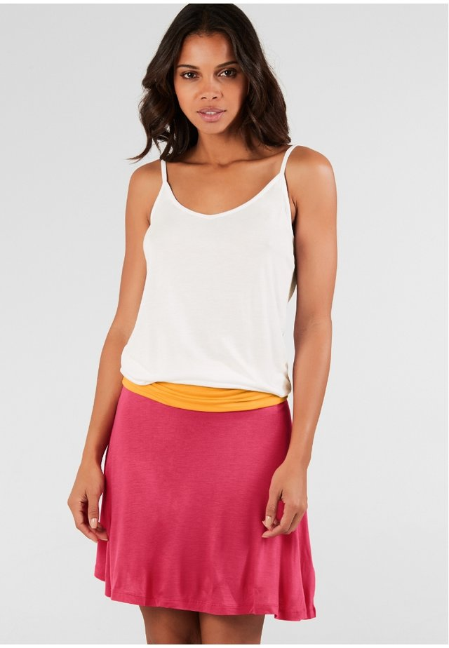 BEACHTIME - Beach accessory - white/orange/pink