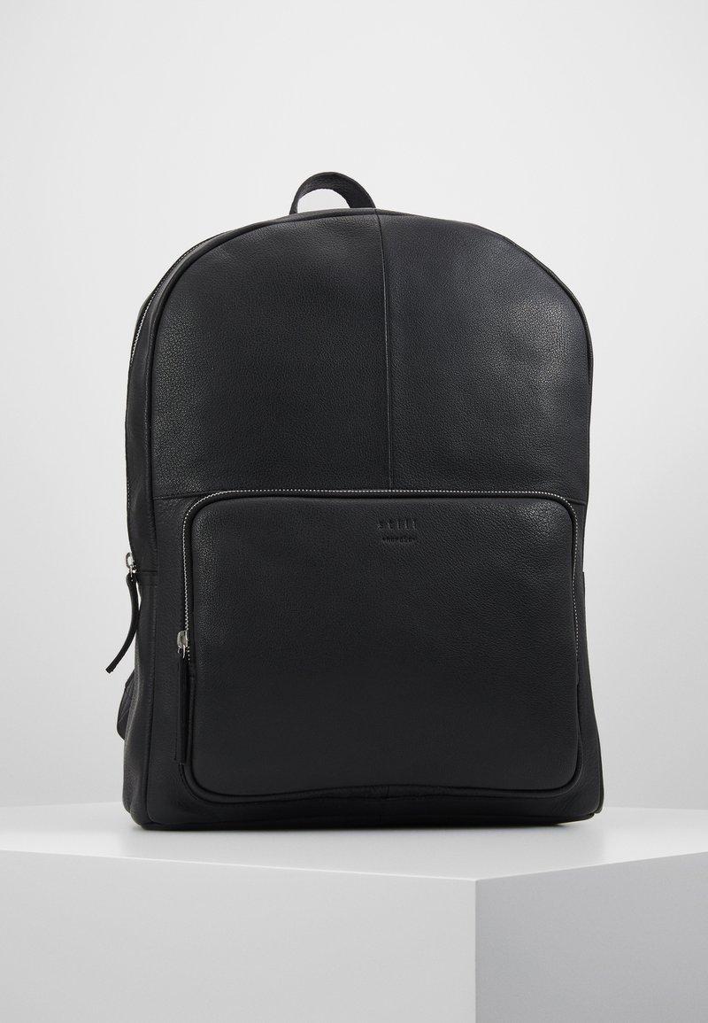 Still Nordic - LUKE CLEAN BACKPACK - Reppu - black
