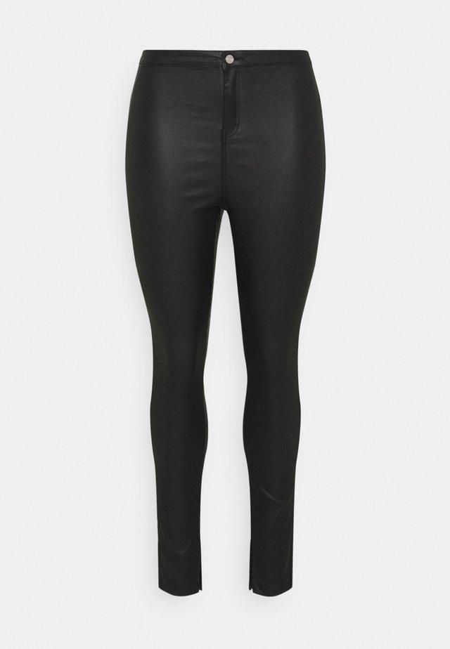 COATED SPLIT HEM VICE  - Jeans Skinny Fit - black