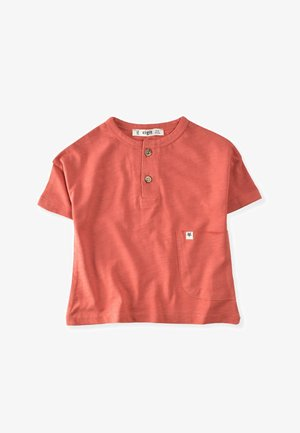 POCKET - Print T-shirt - red