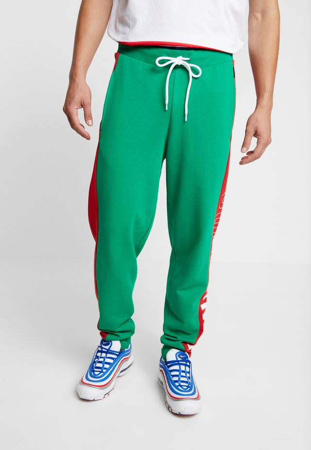 ONSCOLOR PANTS - Tracksuit bottoms - jolly green