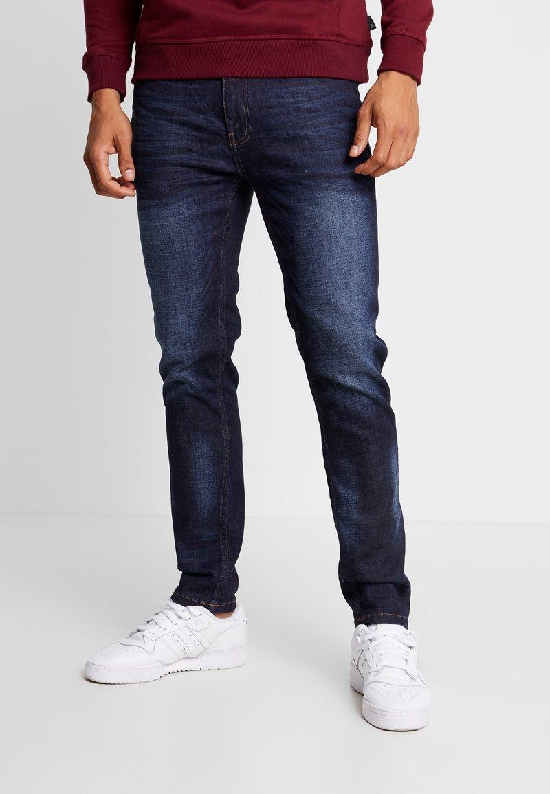 Burton Menswear London - RINSE TRIM - Slim fit jeans - dark blue
