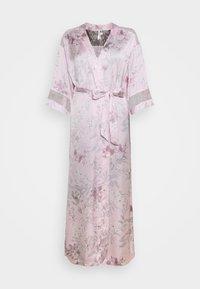Women Secret - LONG ROBE FLOW  - Dressing gown - pink - 5
