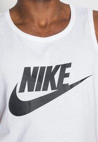 Nike Sportswear - TANK ICON FUTURA - Top - white/black - 4