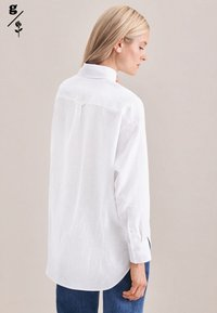 Seidensticker - Button-down blouse - weiss - 1