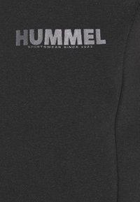 Hummel - LEGACY PANTS - Tracksuit bottoms - black - 2