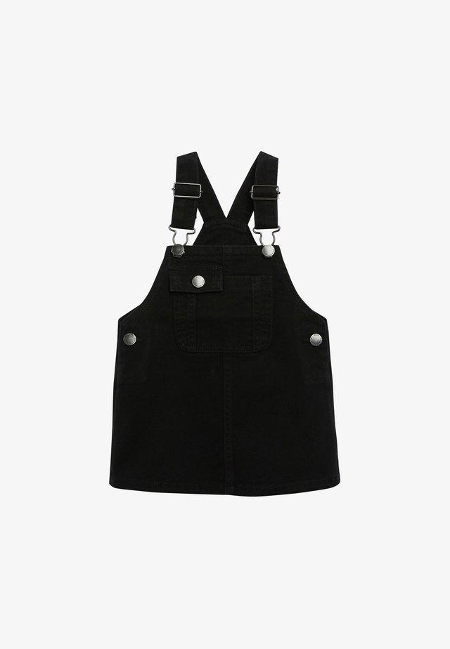 Hängselbyxor - black