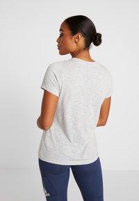 adidas Performance - WINNERS TEE - Print T-shirt - light grey - 2
