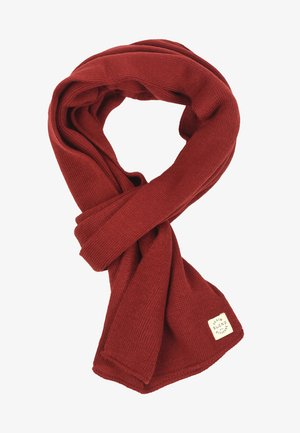 Scarf - wood red