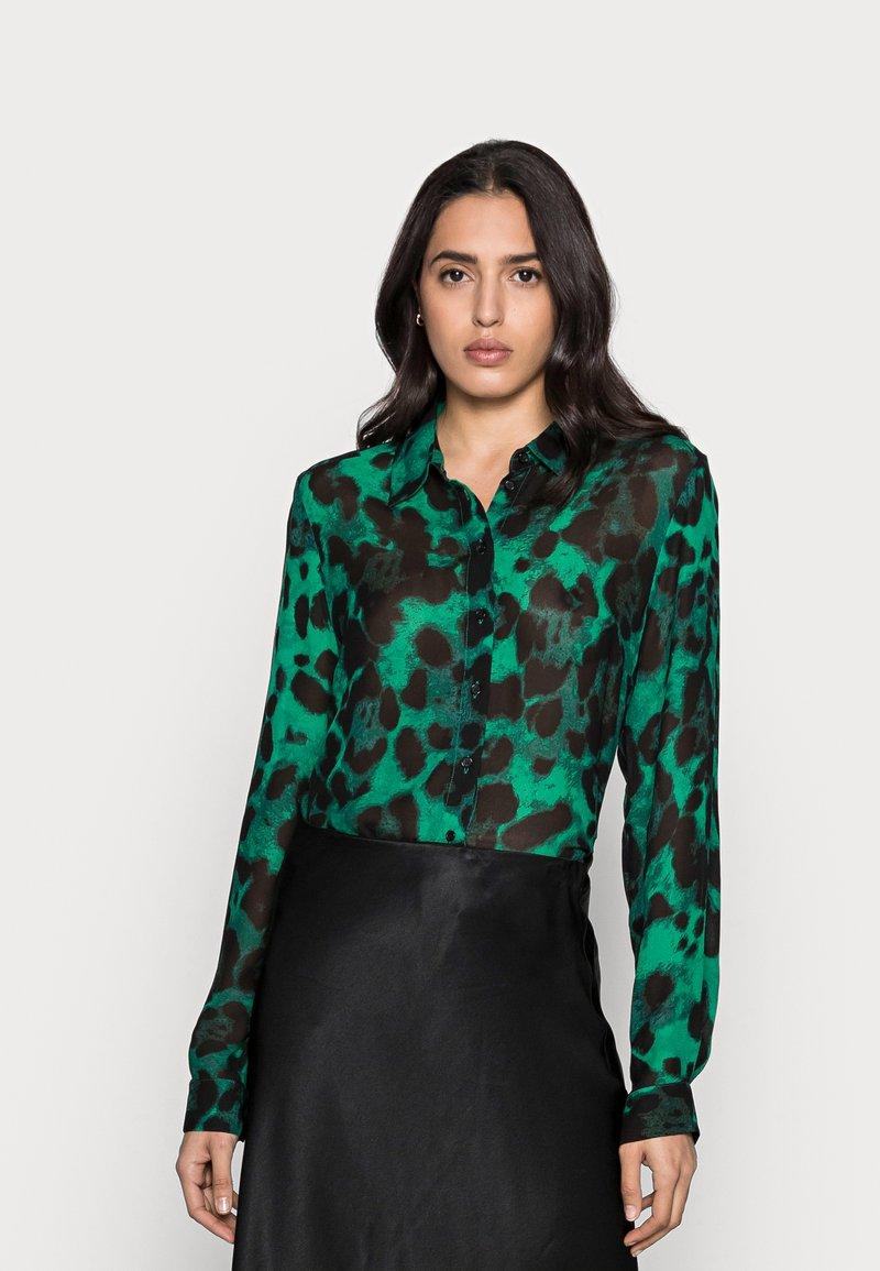 InWear - YASMEEN SHIRT - Button-down blouse - green