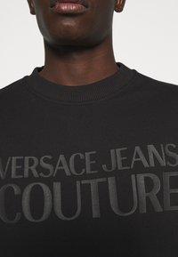 Versace Jeans Couture - FELPA - Sweatshirt - black - 4