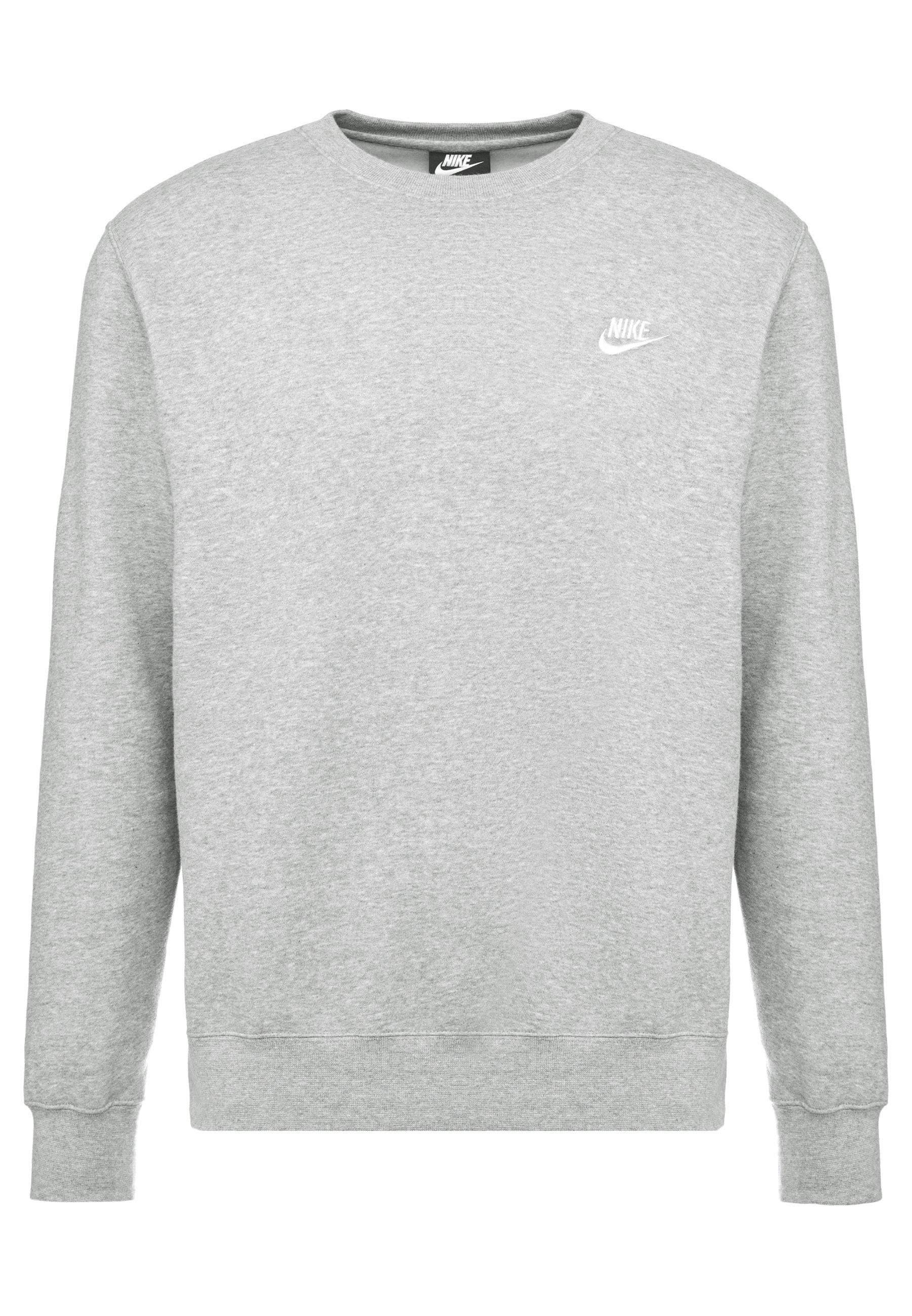 Nike sweater grijs | wehkamp