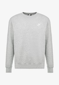 Nike Sportswear - CLUB - Sweater - grey heather/white - 3