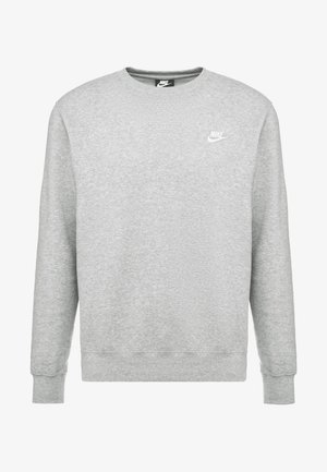 CLUB - Sweatshirt - grey heather/white