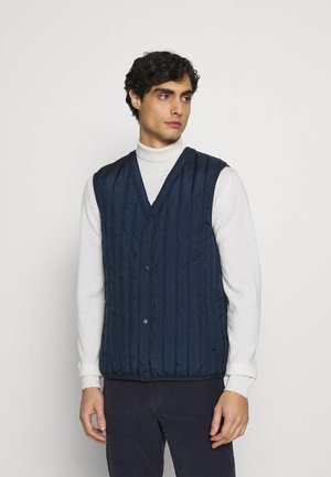 PADDED V NECK VEST - Bodywarmer - sky captain blue