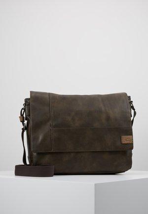MESSENGER LAOS - Across body bag - brown