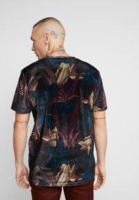 Topman - LEAF TEE - T-shirt med print - multi - 2