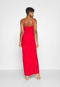 WAL G. - PANEL DETAIL LONG DRESS - Gallakjole - red - 2