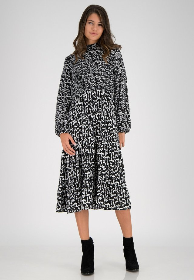 Korte jurk - schwarz multicolor