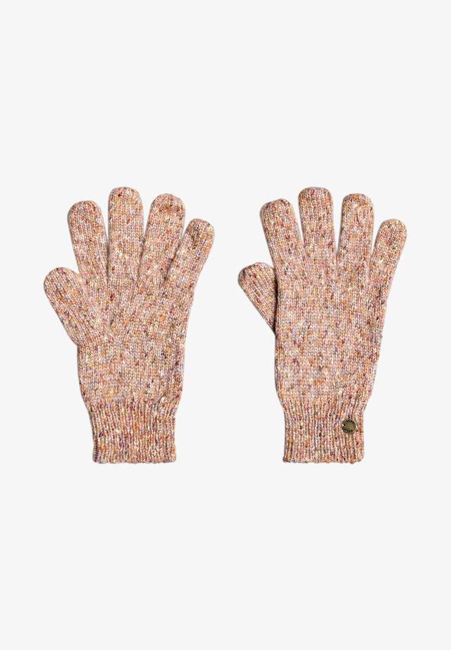 LET IT SNOW - Gloves - deep sea coral
